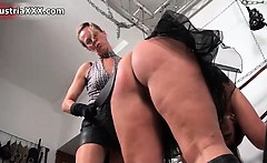 Nasty fat whore gets her big ass spanked