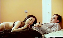 Shy Guy Fucks Promiscuous Asian