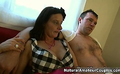 Nasty amateur whore gets horny talking