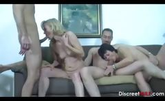 Mature Swingers Sex Party
