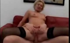 Mature Womans First Gangbang 