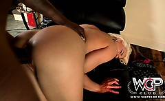 Hot blonde Anikka banging her marriage counselor