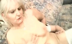 They are very old and horny ladies in hot cock riding action