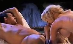 Busty Blonde Beauty Having Sex
