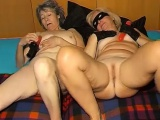 OmaPass One chuby Granny and one old dominant Granny