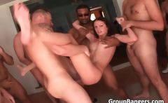 Group sex by horny guys and unbelievable