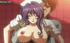 Voluptuous animated nurse fucked