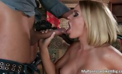Amazing gangbang sex action with Krissy