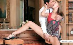 Anjelica in a romantic date