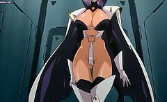 Busty anime shemale penetrating