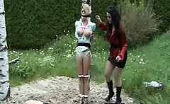 Kinky Young Girl Bondage Sex Makeout