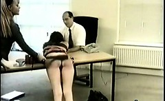 Wild Pervert Girl In Enjoyable Spanking Bondage